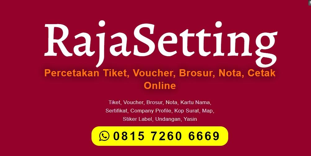 Jasa Percetakan di Aceh Selatan